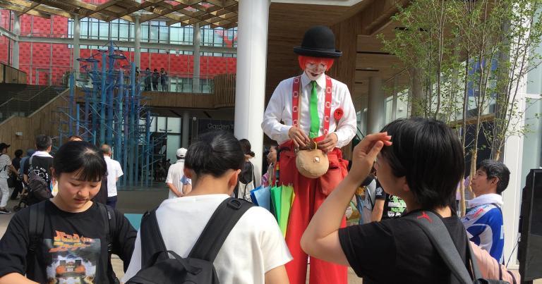 マチニワ1周年記念 マチニワ大道芸フェスティバルのご案内